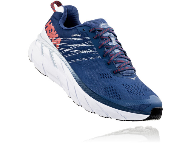 ec4b20f5 Hoka One One Clifton 6 Running Shoes Herrer, ensign blue/plein air ...